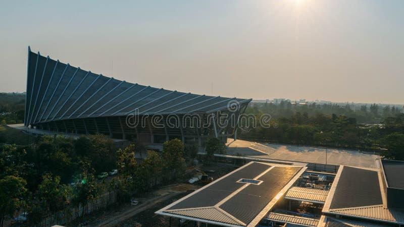 Prinz Mahidol Hall ohne Leute oder irgendeine Tätigkeit stockfotografie