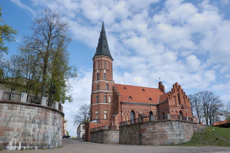 Prinz Witold Church, Lithuani stockfoto