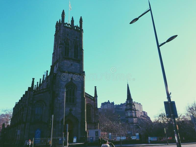 Prinzen Street, Edinburgh lizenzfreie stockfotos
