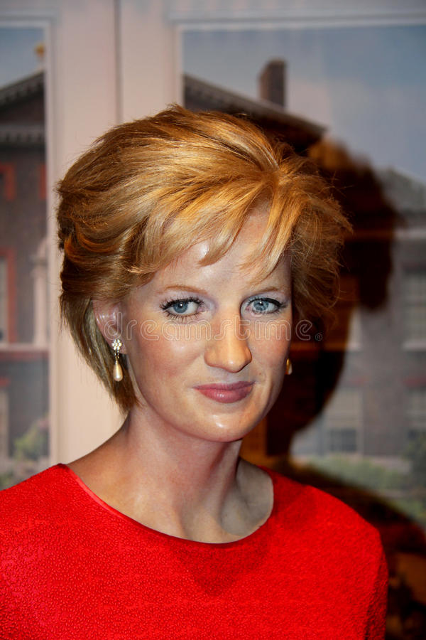 Prinzessin Diana lizenzfreie stockbilder