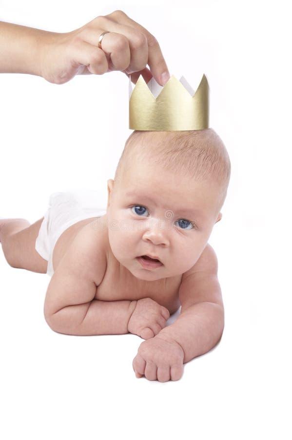 Prinzessin geboren lizenzfreies stockbild