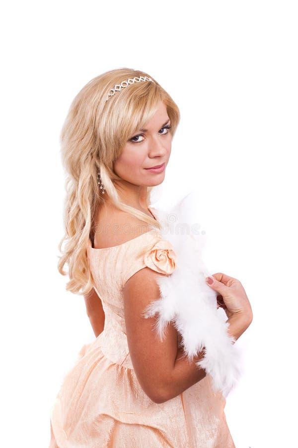 Prinzessin kostümiert Frau stockbild