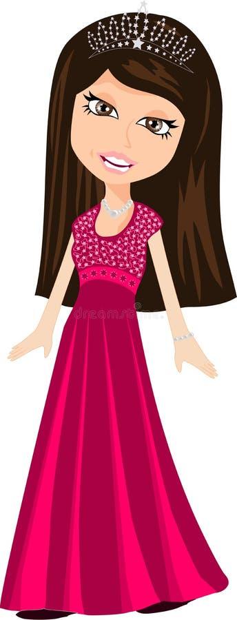 Prinzessin Royalty lizenzfreie stockbilder