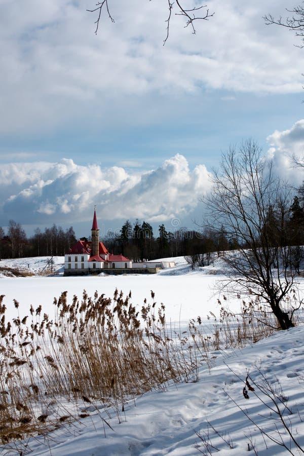 priorat дворца gatchina стоковая фотография