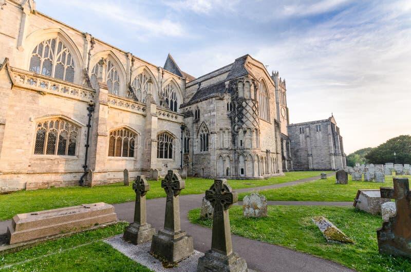 Priorato de Christchurch foto de archivo