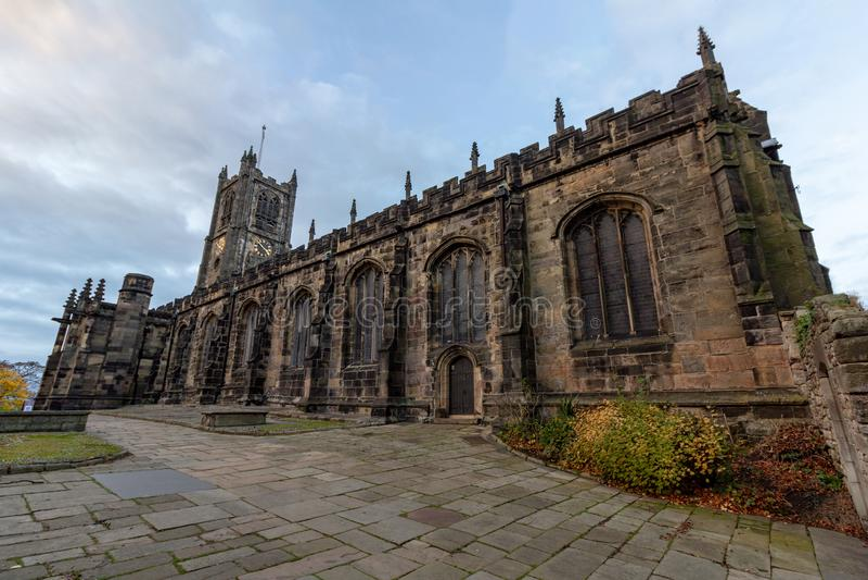 Priorato de Lancaster cerca del castillo de Lancaster imagenes de archivo