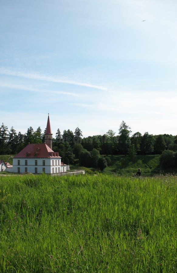 prioratsky gatchina pałac zdjęcia stock