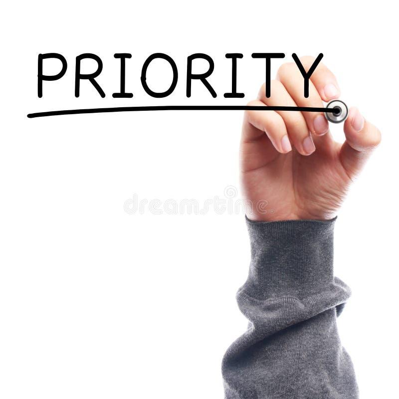 priorità fotografie stock libere da diritti