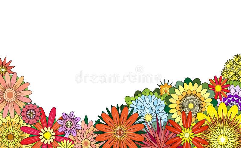 Priorità alta del fiore illustrazione di stock