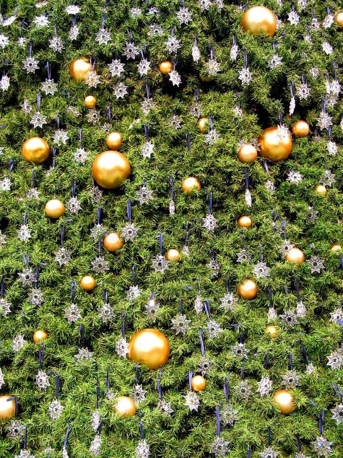 Priorità bassa 1 dell'albero di Natale immagine stock