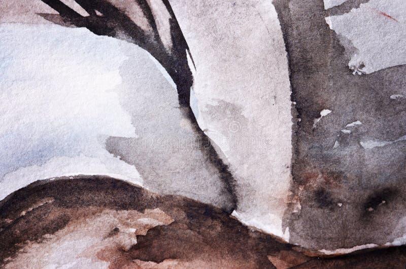 priorità bassa Acqua-colorata illustrazione di stock