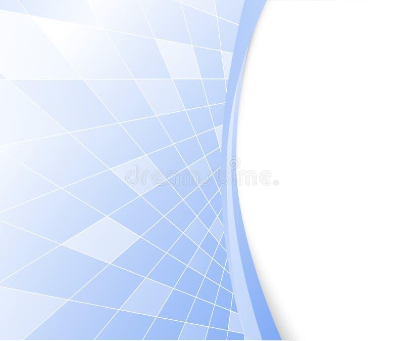 Priorità bassa alta tecnologia blu di vettore illustrazione di stock