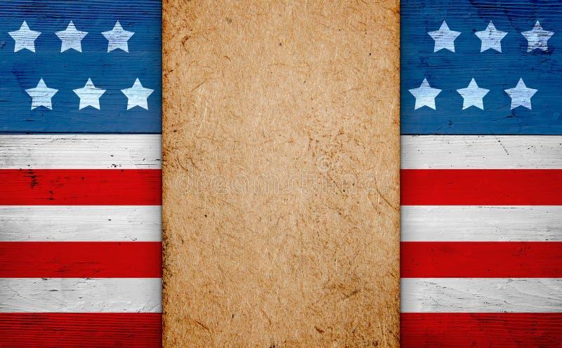 Priorità bassa americana patriottica fotografie stock libere da diritti