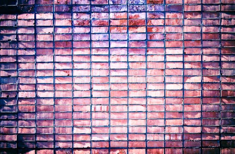 Priorità bassa approssimativa del muro di mattoni del grunge immagini stock