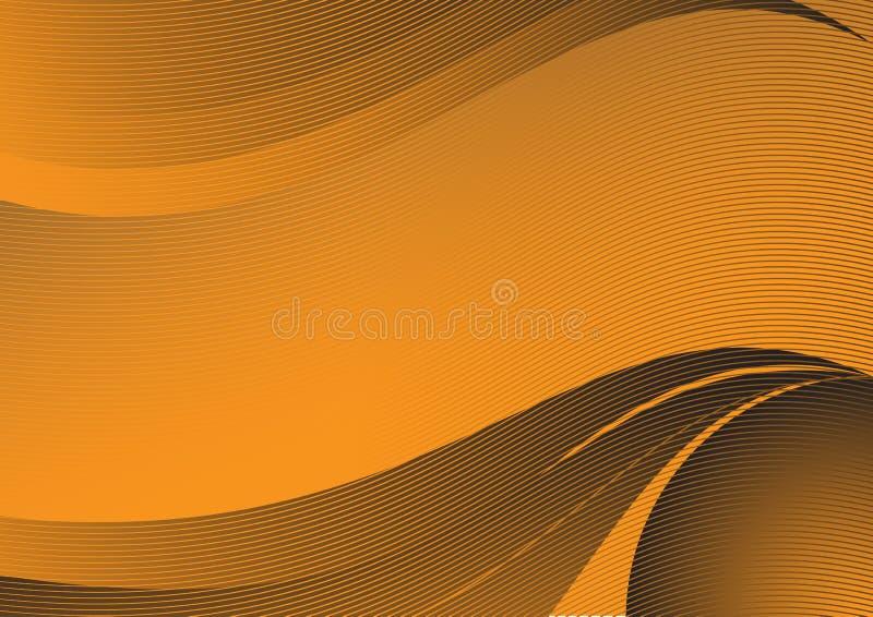 Priorità bassa arancione royalty illustrazione gratis