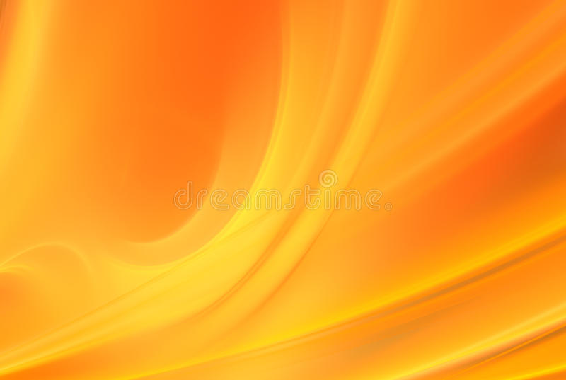 Priorità bassa arancione astratta illustrazione di stock