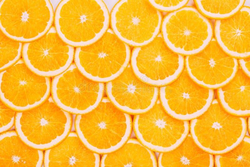 Priorità bassa arancione della frutta Arance di estate fotografia stock