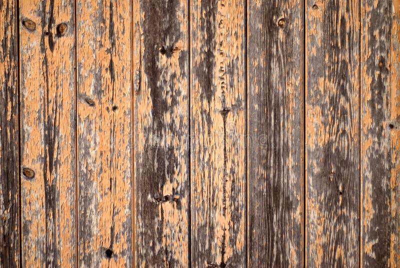 Priorità bassa arancione di legno del granaio fotografie stock libere da diritti
