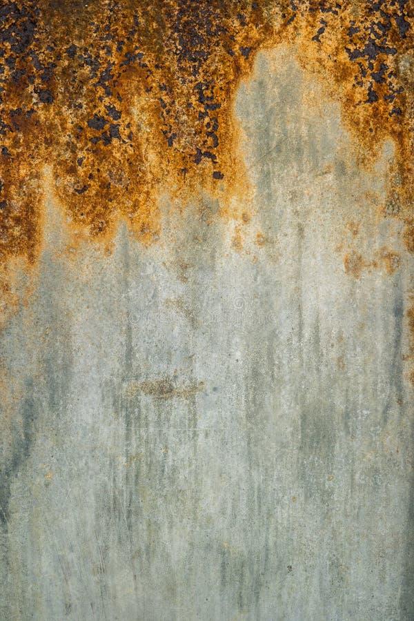 Priorità bassa arrugginita di struttura del metallo fotografia stock libera da diritti