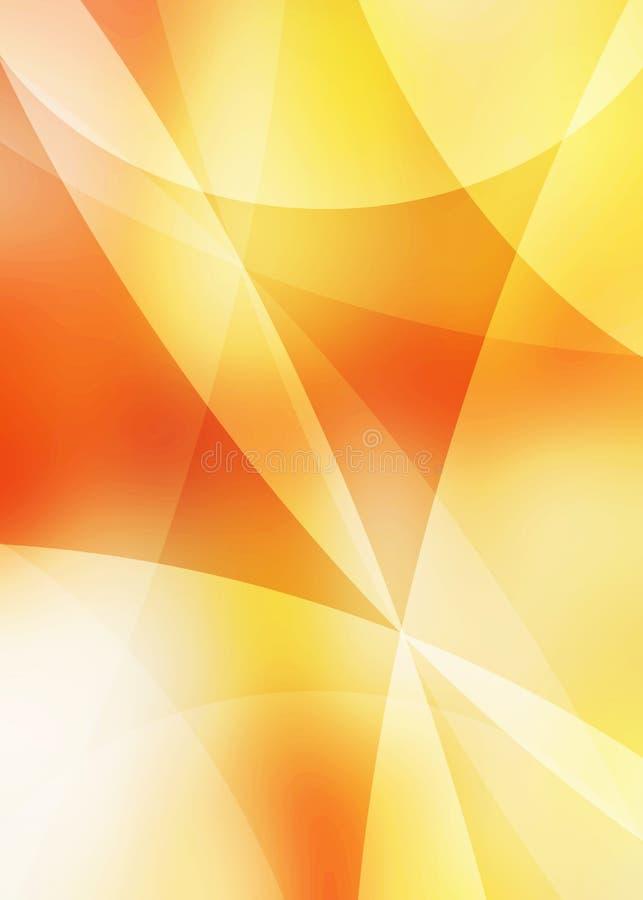 Priorità bassa astratta arancione royalty illustrazione gratis