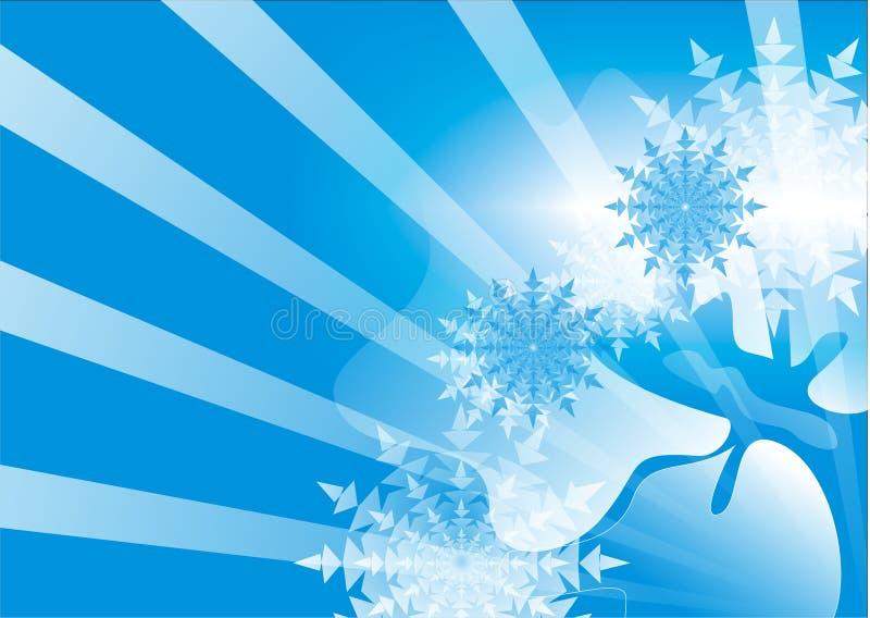Download Priorità Bassa Astratta Blu Illustrazione Vettoriale - Illustrazione di radiante, arte: 7307409