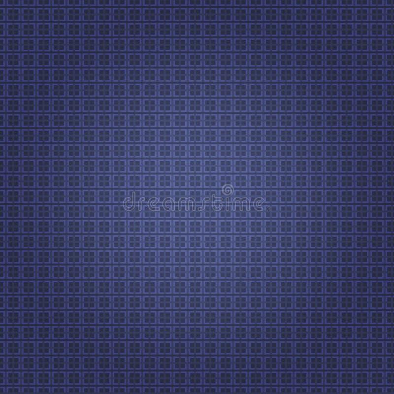 Priorità bassa astratta blu Modello senza cuciture per la carta Struttura gotica royalty illustrazione gratis