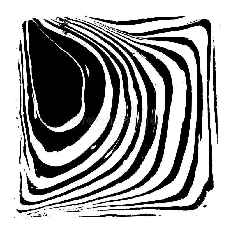 Priorità bassa astratta con il reticolo della zebra illustrazione di stock