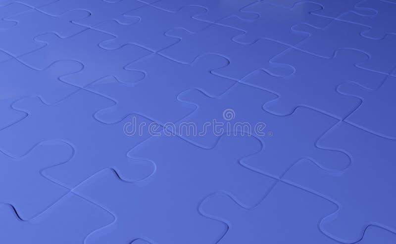 Priorità bassa astratta dal puzzle unito insieme illustrazione vettoriale