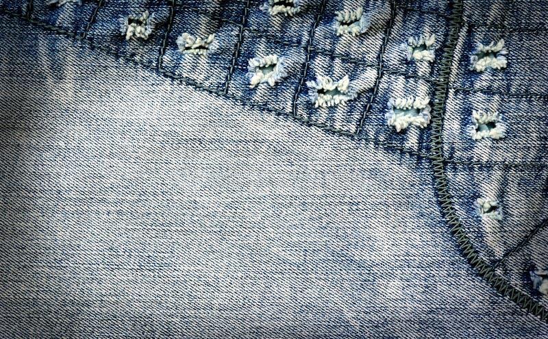 Priorità bassa astratta dei jeans immagini stock libere da diritti