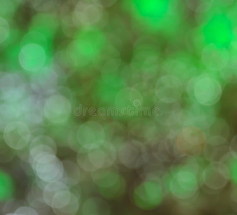 Priorità bassa astratta del bokeh degli indicatori luminosi di natale fotografia stock libera da diritti
