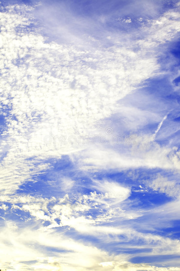 Priorità bassa astratta del cielo fotografia stock