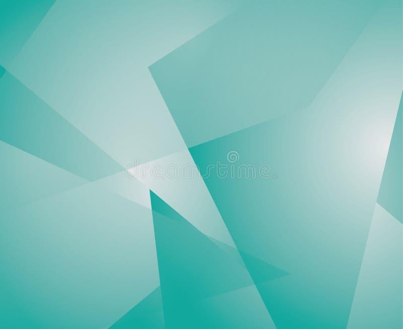 Priorità bassa astratta del cubo illustrazione vettoriale