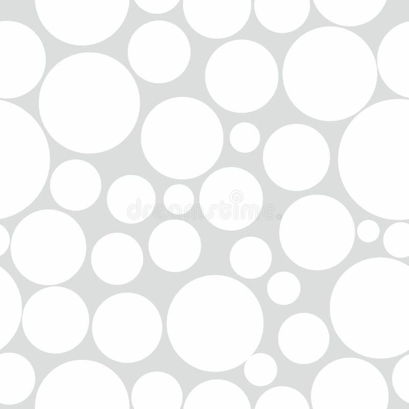 Priorità bassa astratta del reticolo del cerchio illustrazione vettoriale
