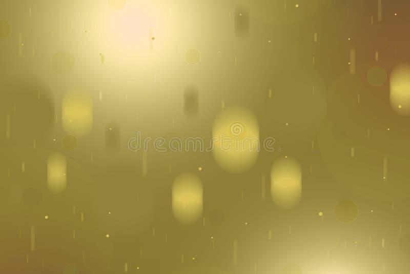 Priorità bassa astratta della sfuocatura belle luci brillanti vaghe bokeh fotografia stock libera da diritti