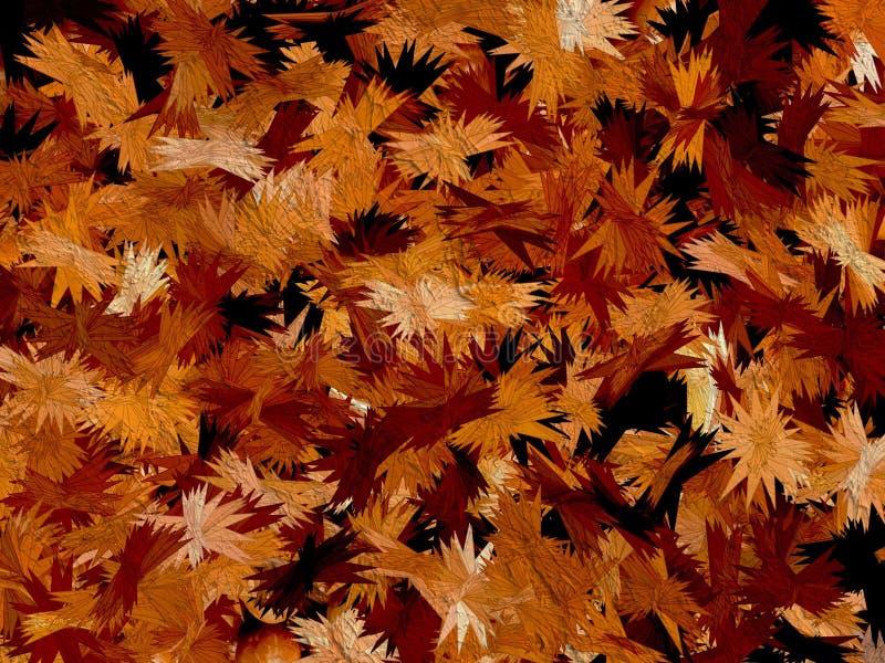 Priorità bassa astratta di autunno immagini stock libere da diritti