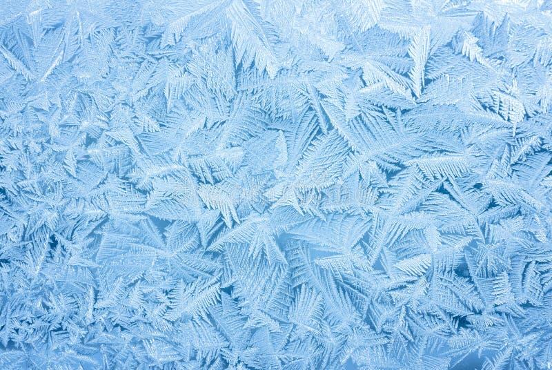 Priorità bassa astratta di gelo fotografia stock libera da diritti