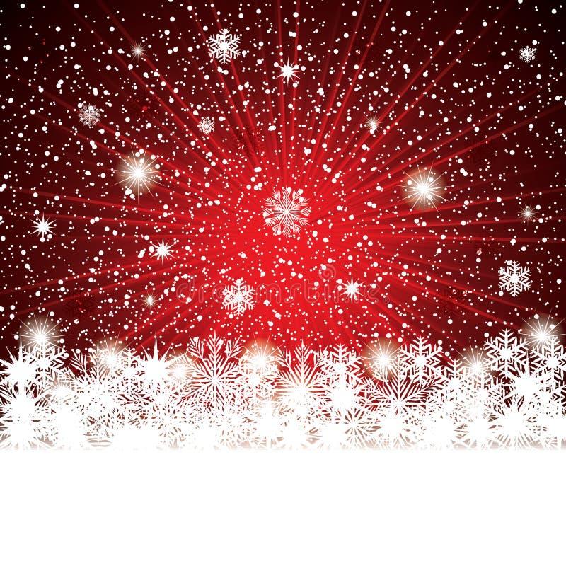 Priorità bassa astratta di inverno royalty illustrazione gratis