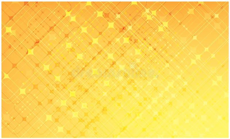 Priorità bassa astratta di schema della stella illustrazione vettoriale
