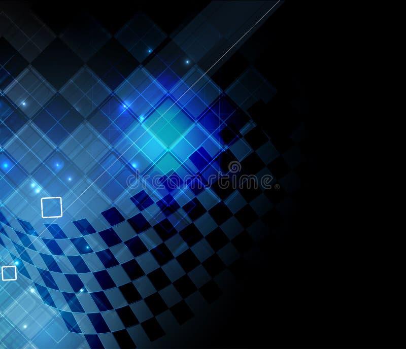 Download Priorità Bassa Astratta Di Tecnologia Interfaccia Futuristica Di Tecnologia Vettore Illustrazione Vettoriale - Illustrazione di grafico, digitale: 56884503
