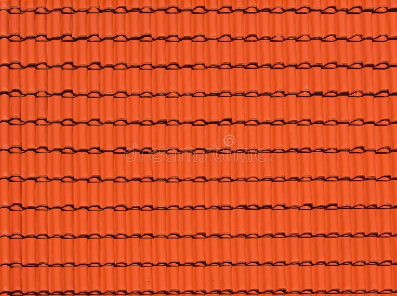 Priorità bassa astratta fatta delle mattonelle di tetto fotografia stock