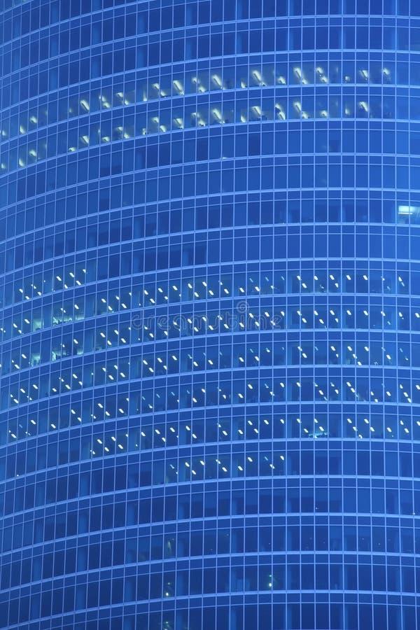Priorità bassa astratta, finestra del grattacielo immagine stock
