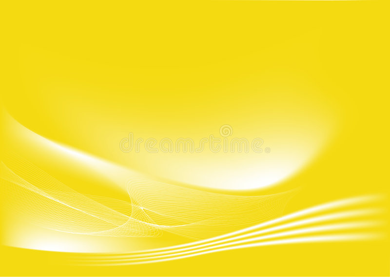 Priorità bassa astratta gialla illustrazione di stock