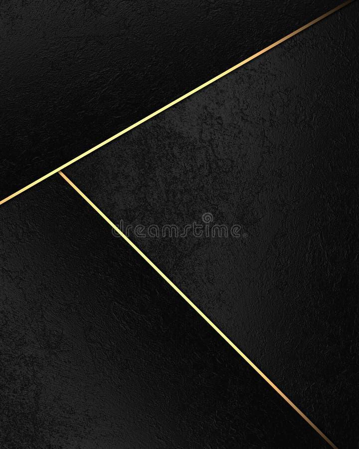 Priorità bassa astratta nera Elemento per progettazione Mascherina per il disegno copi lo spazio per l'opuscolo dell'annuncio o l illustrazione di stock