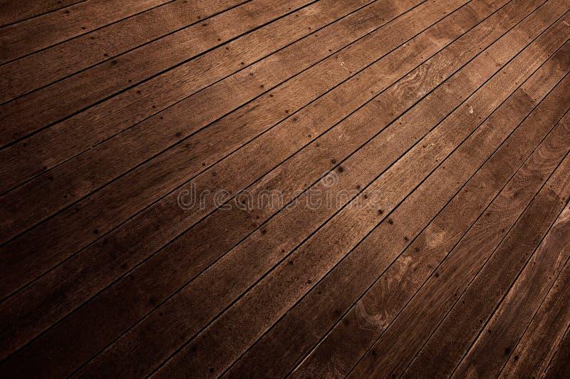 Priorità bassa astratta - pavimentazione fatta di legno fotografie stock libere da diritti