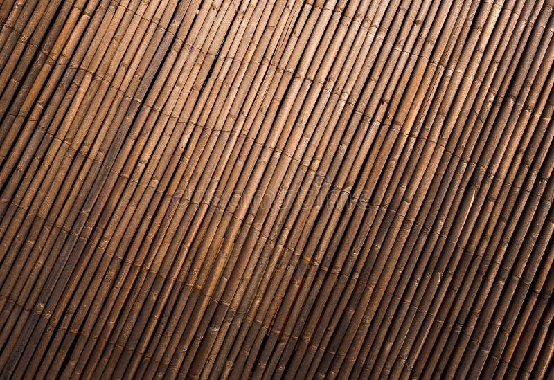 Priorità bassa astratta - struttura di bambù della parete immagine stock libera da diritti