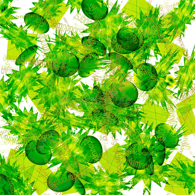 Priorità bassa astratta verde royalty illustrazione gratis