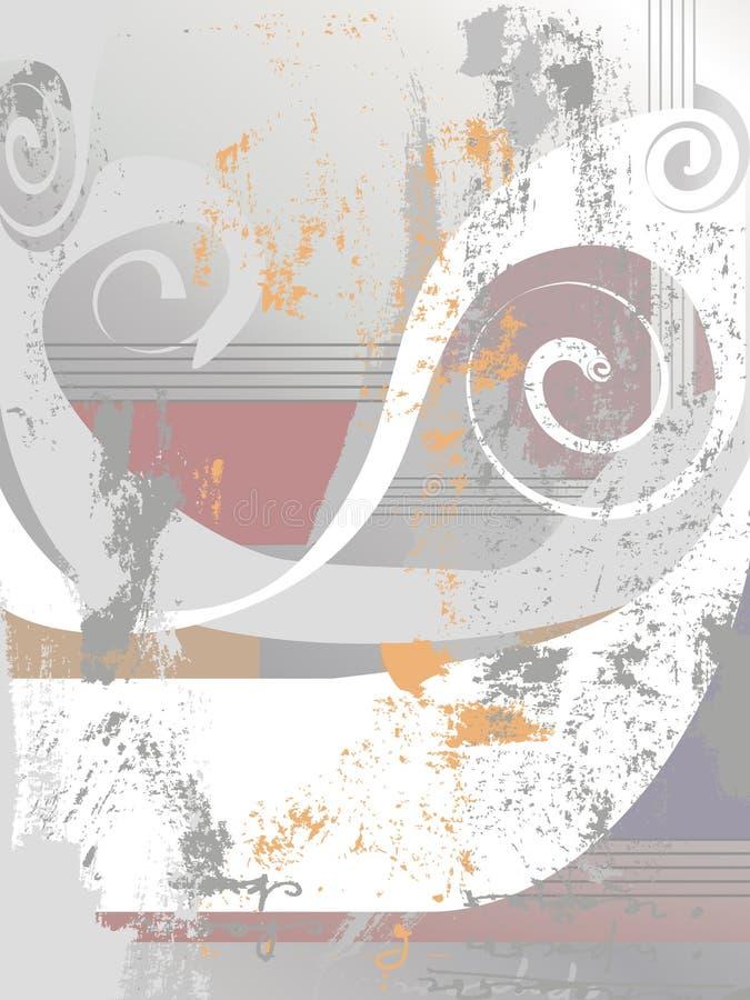 Download Priorità Bassa Astratta (vettore) Illustrazione Vettoriale - Illustrazione di grunge, curva: 7303014