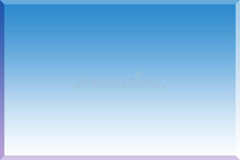 Priorità bassa blu 3d fotografia stock