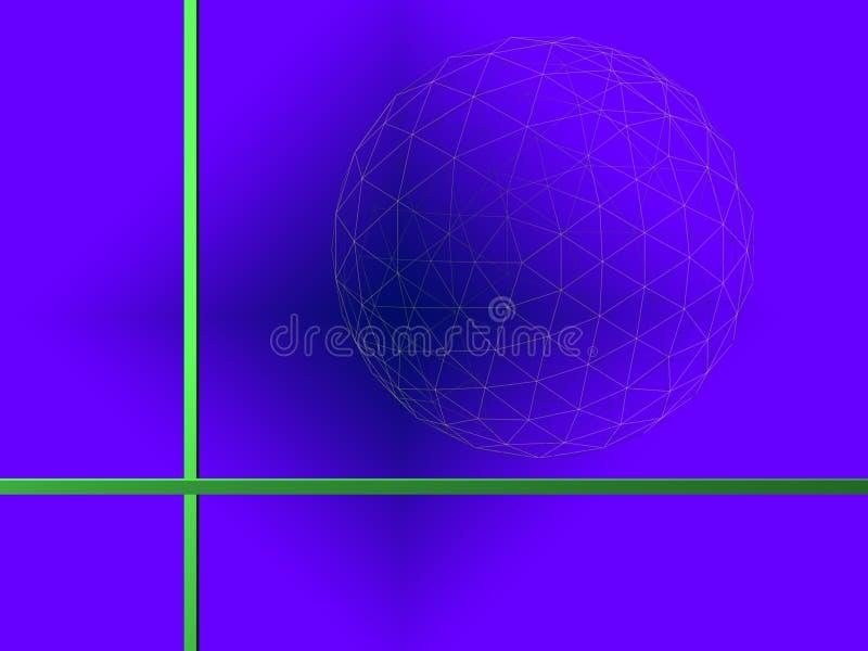 Priorità bassa blu fotografia stock libera da diritti