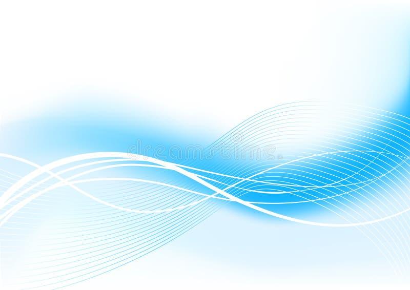 Priorità bassa blu illustrazione vettoriale